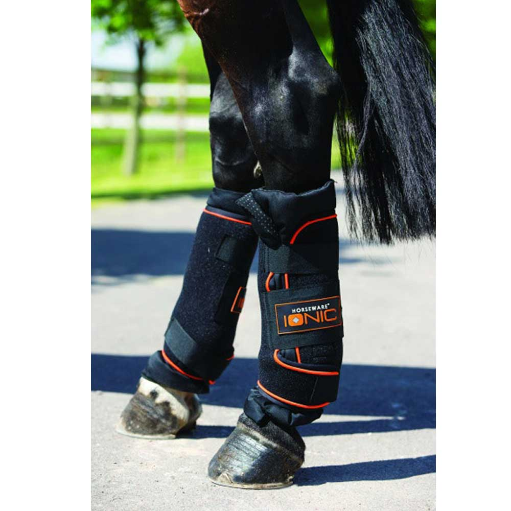 Rambo Ionic Stable Boots Tack - Leg Protection - Rehab & Travel Horseware Teskeys