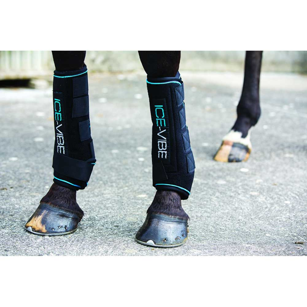 Ice-Vibe Boot Tack - Leg Protection - Rehab & Travel Horseware Teskeys