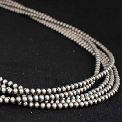 "Desert Pearl 5 Strand 60"" Necklace WOMEN - Accessories - Jewelry - Necklaces SUNWEST SILVER Teskeys"