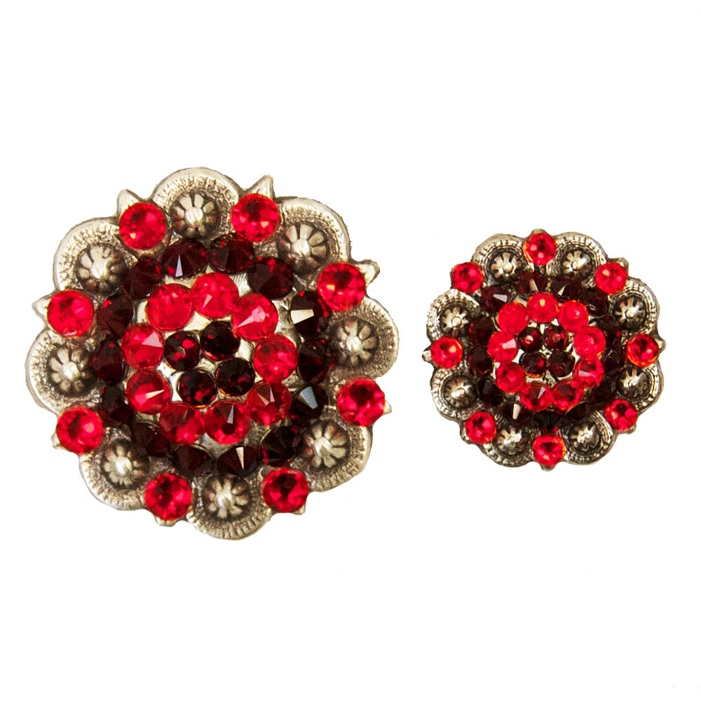 Red Crystal Berry Conchos
