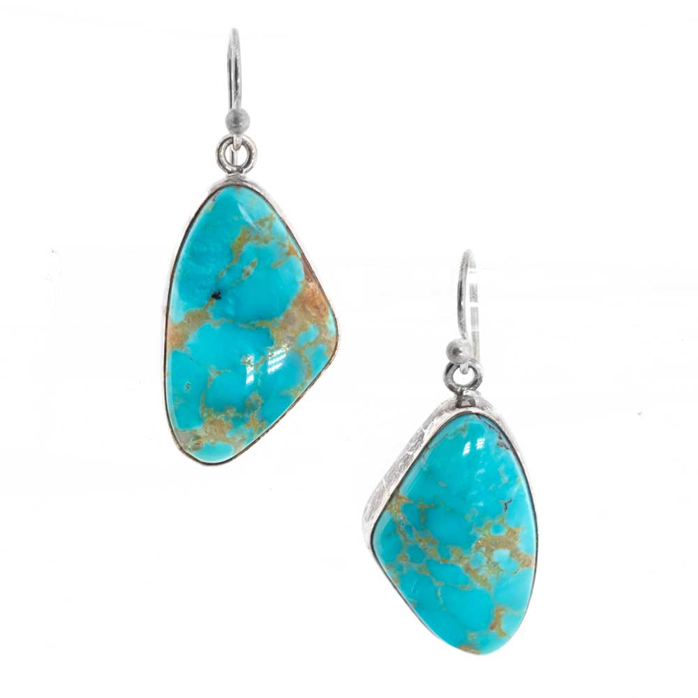 Turquoise Dangle Earrings Unclassified QUE' CHULA COLLECTION Teskeys