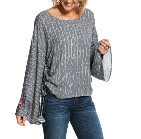 Ariat Blooming Top WOMEN - Clothing - Tops - Long Sleeved Ariat Clothing Teskeys