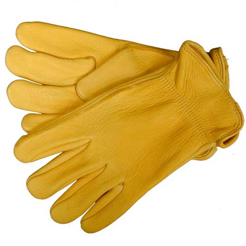 Tuff Mate Elk Skin Gloves Farm & Ranch - Barn Supplies - Accessories Tuff Mate Teskeys
