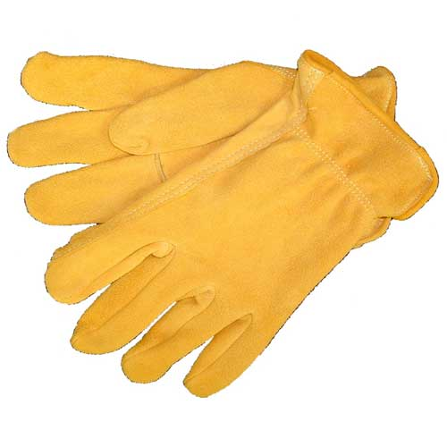 Tuff Mate Genuine Deerskin Suede Gloves Farm & Ranch - Barn Supplies - Accessories Tuff Mate Teskeys