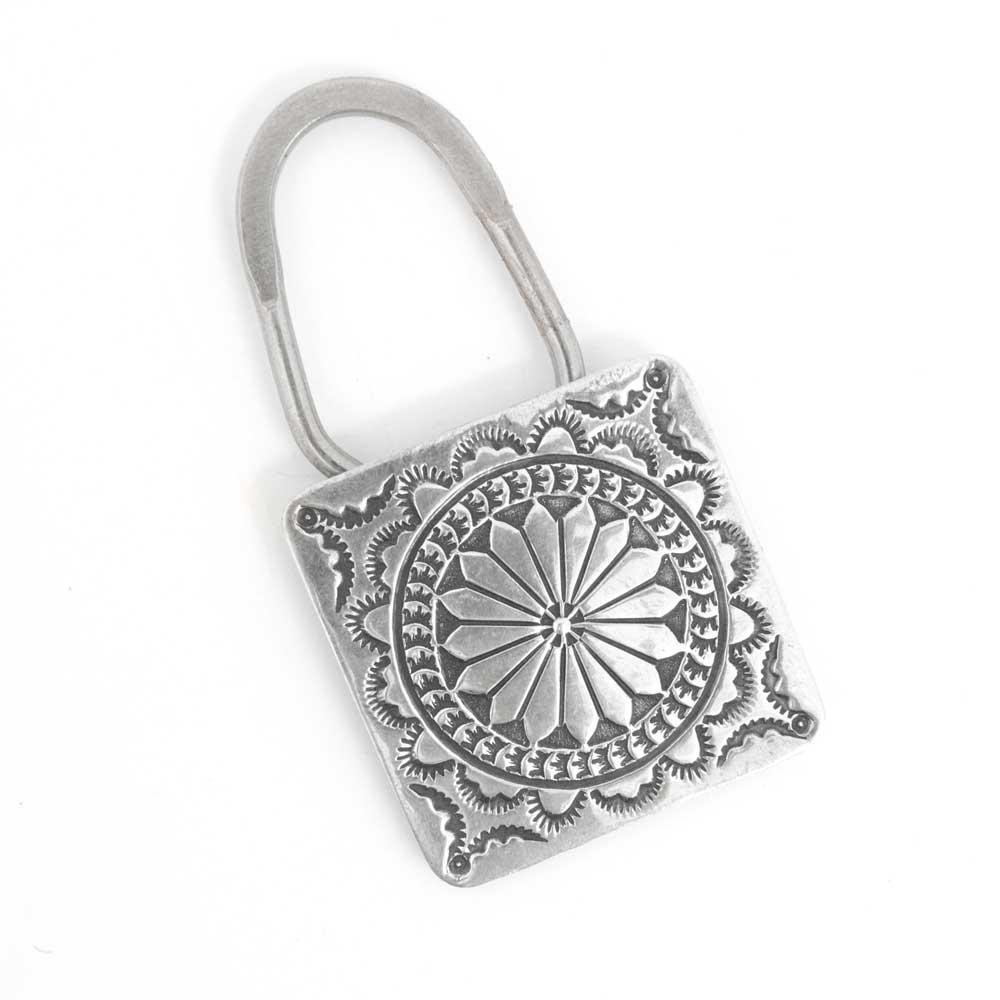 Harris Joe Stamp Key Chain WOMEN - Accessories - Small Accessories SUNWEST SILVER Teskeys