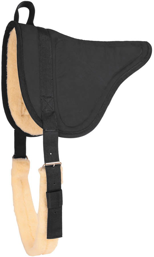 Suede Bareback Pad with Fleece Tack - Saddle Pads - Blankets Mustang Teskeys