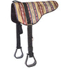 Sierra Herculon Bareback Saddle Pad With Stirrups Tack - Saddle Pads Mustang Teskeys