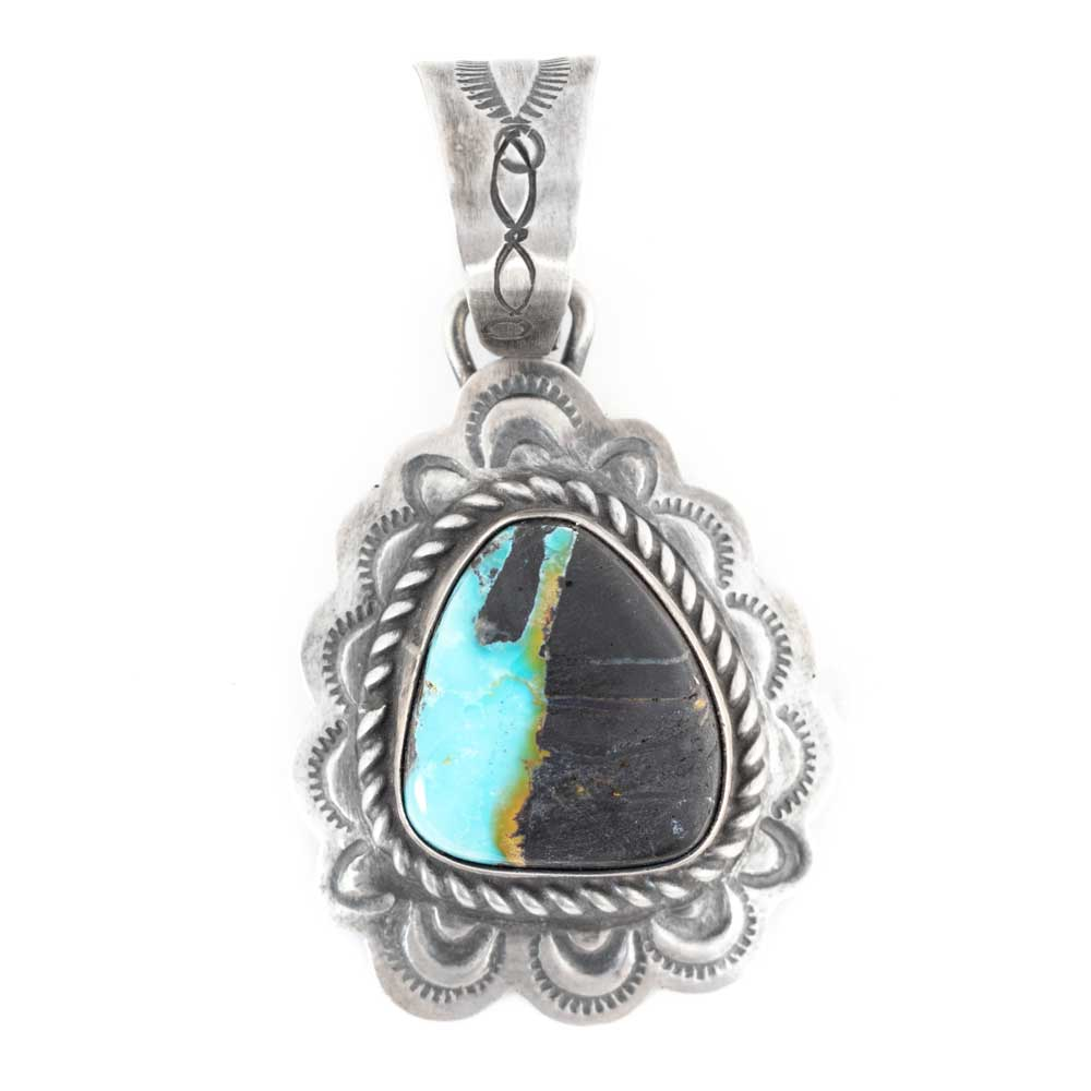 Boulder Turquoise Pendant WOMEN - Accessories - Jewelry - Pins & Pendants SUNWEST SILVER Teskeys