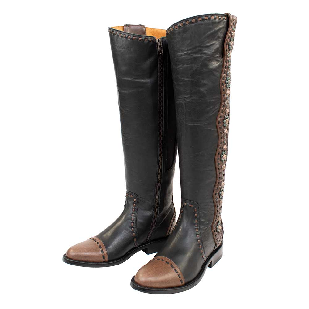 Old Gringo Cheryl Tall Black Boots WOMEN - Footwear - Boots - Fashion Boots OLD GRINGO Teskeys