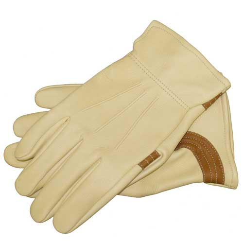 "Tuff Mate ""Buck-N-Bronc"" Deer Skin Gloves Farm & Ranch - Barn Supplies - Accessories Tuff Mate Teskeys"