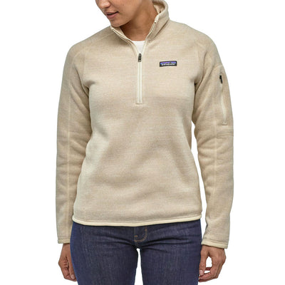 Patagonia Women's Better Sweater 1/4 Zip Pullover WOMEN - Clothing - Sweatshirts & Hoodies Patagonia Teskeys