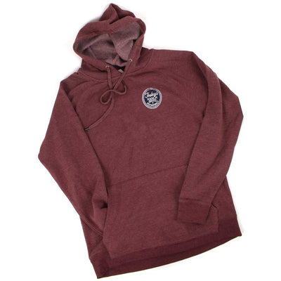 Teskey's Ranch Supply Icon Hoodie - Maroon Hteather TESKEY'S GEAR - Hoodies OURAY SPORTSWEAR Teskeys
