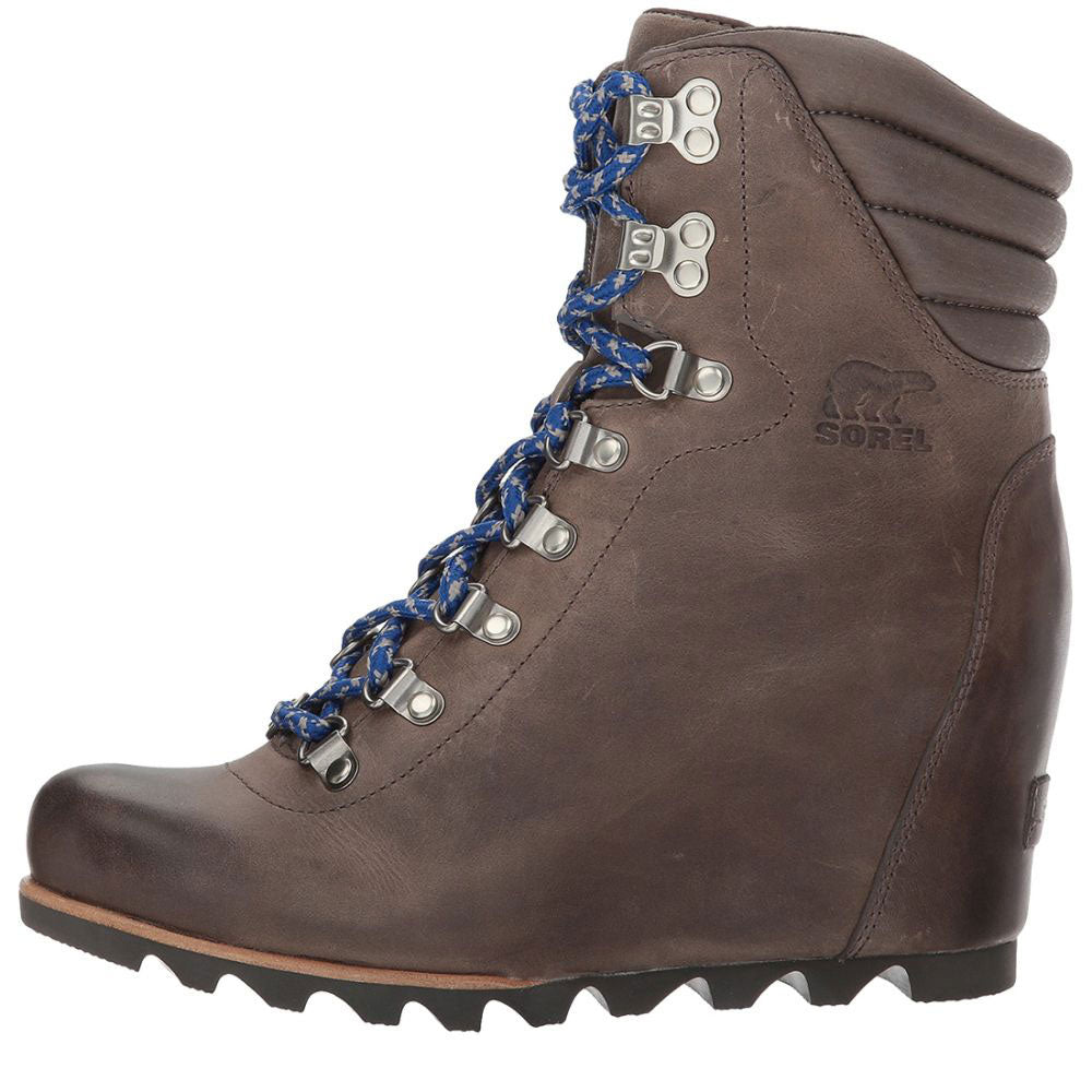 Sorel Conquest Wedge Boots - Kettle WOMEN - Footwear - Boots - Fashion Boots SOREL Teskeys