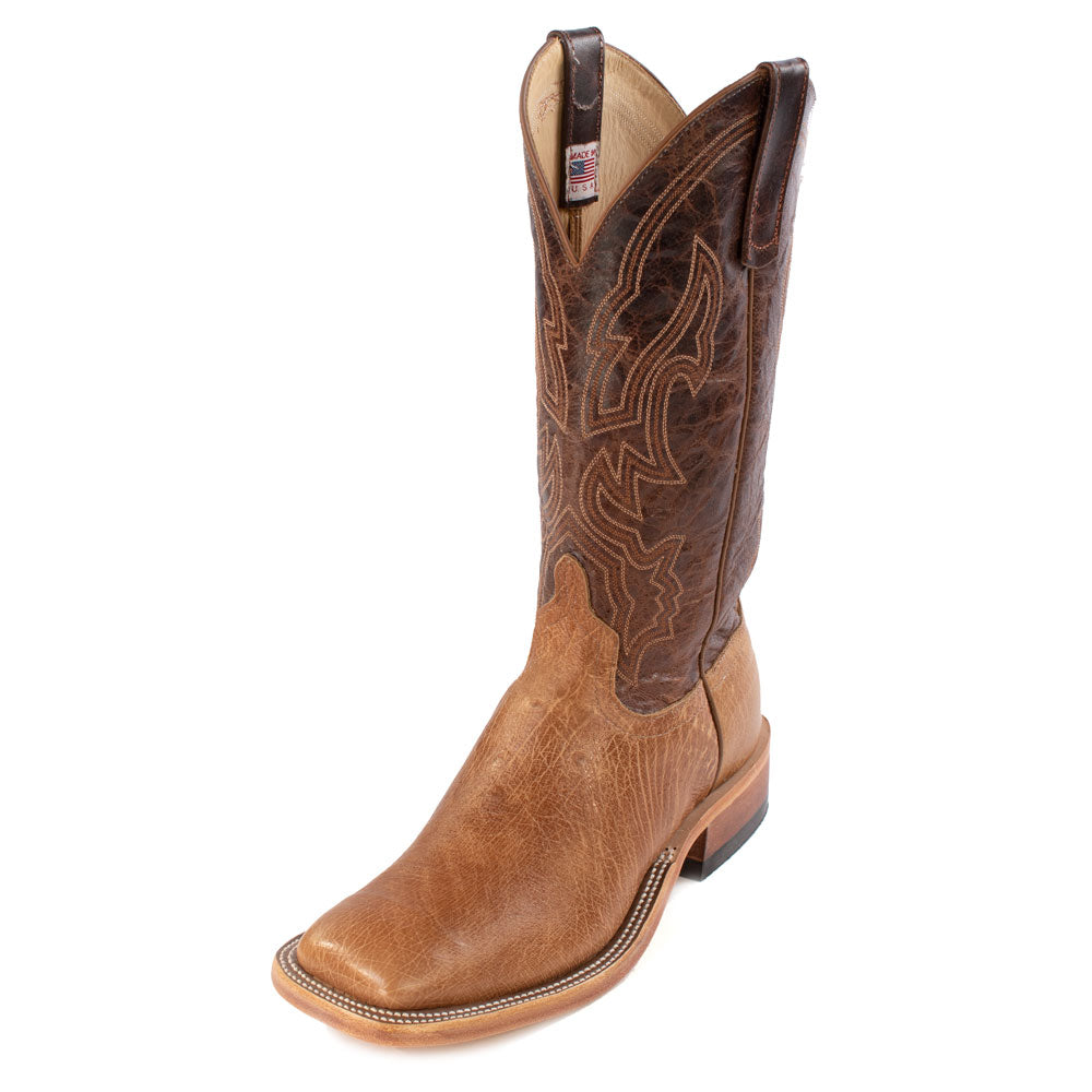 Anderson Bean Smooth Ostrich Boot MEN - Footwear - Exotic Western Boots ANDERSON BEAN BOOT CO. Teskeys