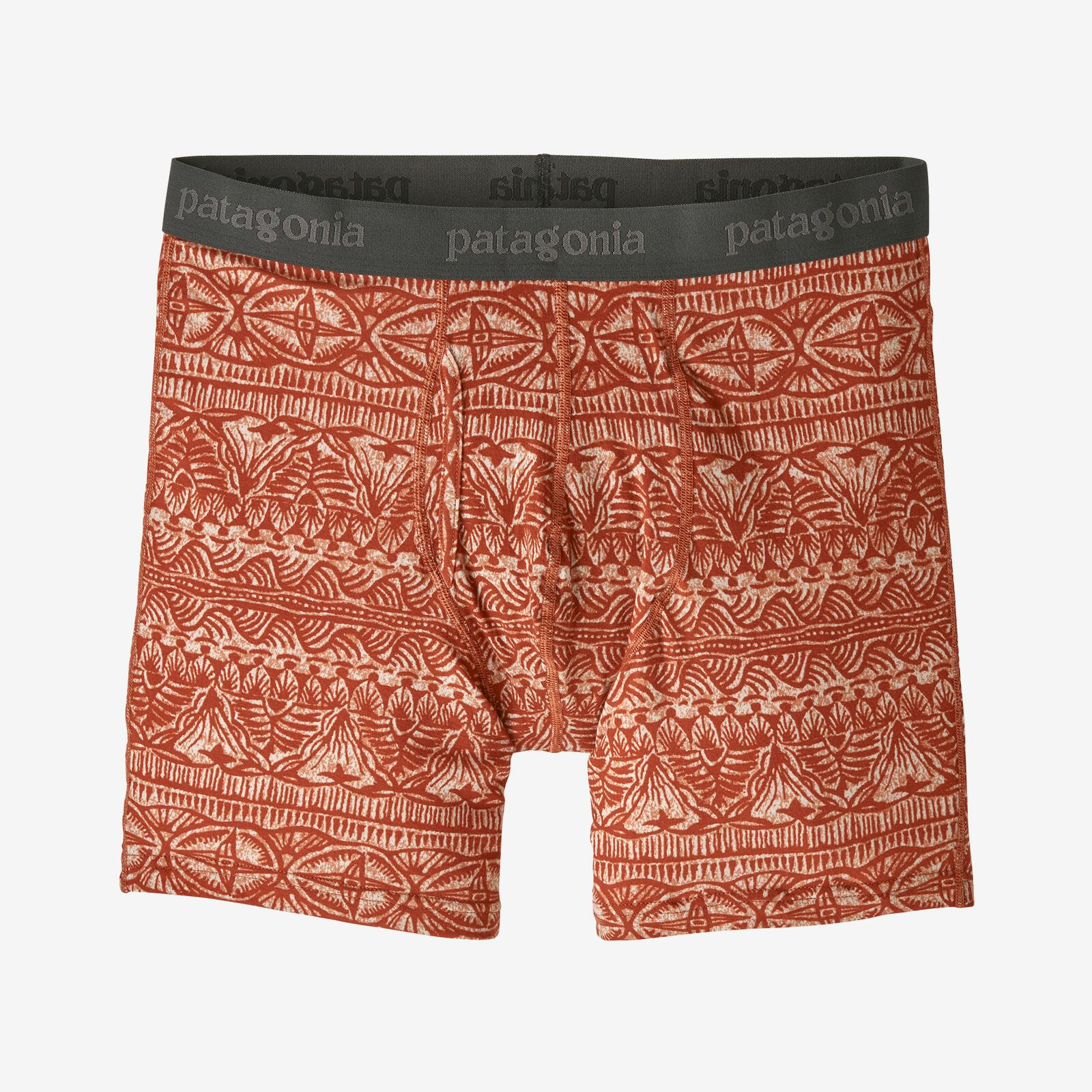 "Patagonia Men's Essential Boxer Briefs - 6"" MEN - Clothing - Underwear & Socks Patagonia Teskeys"