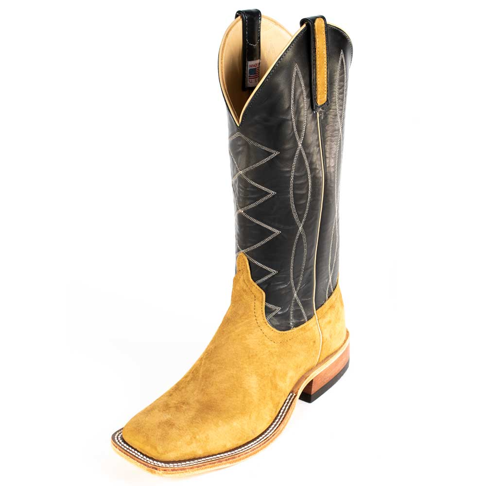 Anderson Bean Pig Suede Boot MEN - Footwear - Exotic Western Boots ANDERSON BEAN BOOT CO. Teskeys