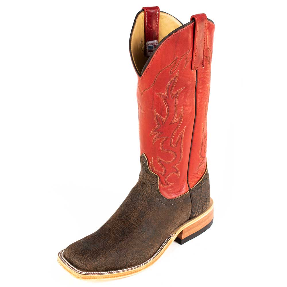 Anderson Bean Safari Buffalo Boot MEN - Footwear - Western Boots ANDERSON BEAN BOOT CO. Teskeys
