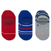 Stance 3-Pack True Color No Show Socks MEN - Clothing - Underwear & Socks STANCE Teskeys