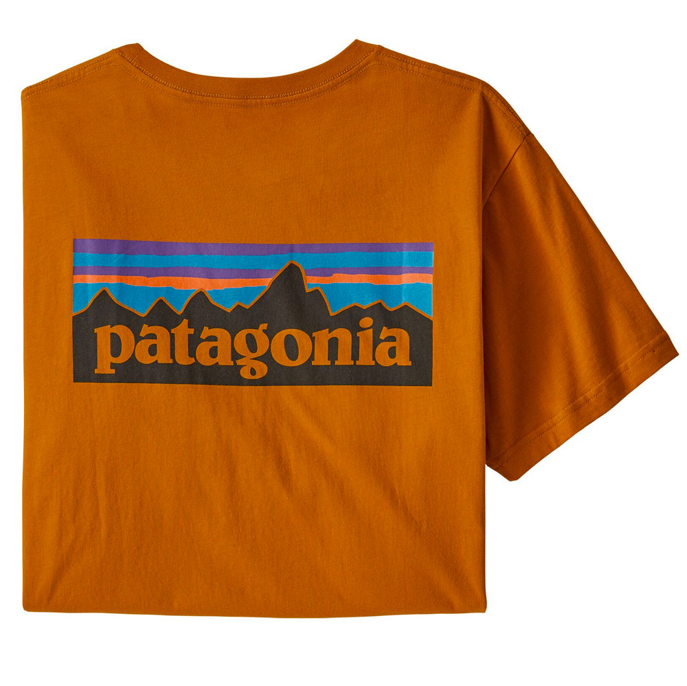 Patagonia P-6 Logo T-Shirt MEN - Clothing - Shirts - Short Sleeve Shirts Teskeys Teskeys