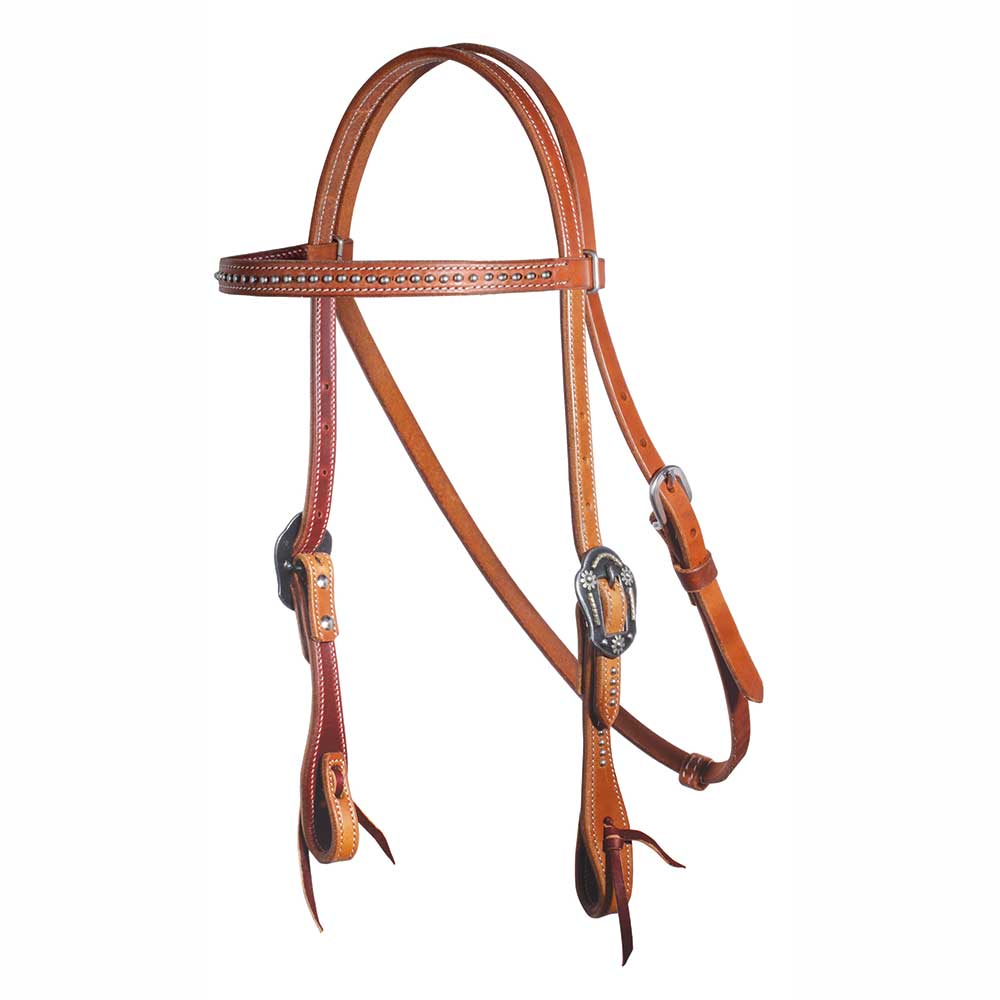 Professional's Choice Dotted Browband Headstall Tack - Headstalls - Browband Professional's Choice Teskeys