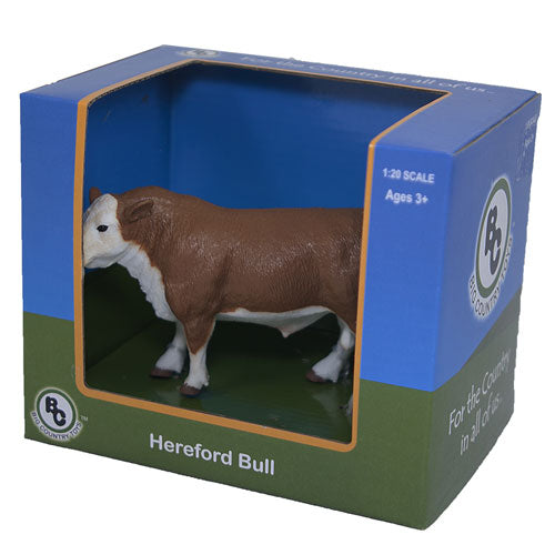 Big Country Toys Hereford Bull Farm & Ranch - Toys and DVDs Big Country Toys Teskeys