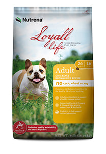 Nutrena Loyall Life Adult Chicken and Rice Recipe FARM & RANCH - Animal Care - Pets - Accessories - Feeders & Waters Nutrena Teskeys