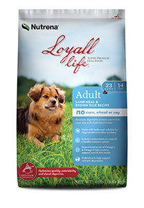 Nutrena Loyall Life Adult Lamb Meal & Rice FARM & RANCH - Animal Care - Pets - Accessories - Feeders & Waters Nutrena Teskeys
