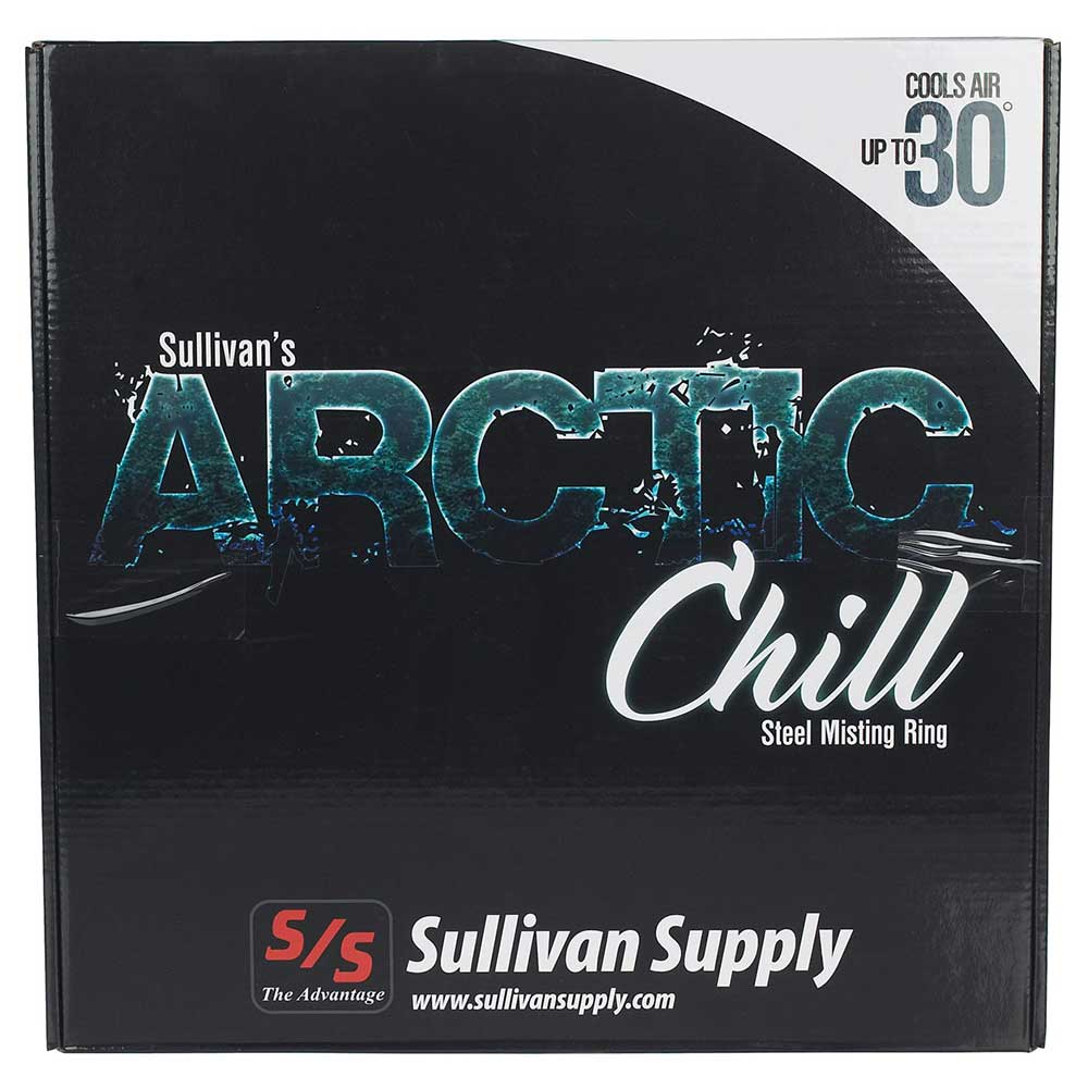 Sullivan's Arctic Chill Steel Misting Ring Farm & Ranch - Barn Supplies Sullivan's Supply Teskeys