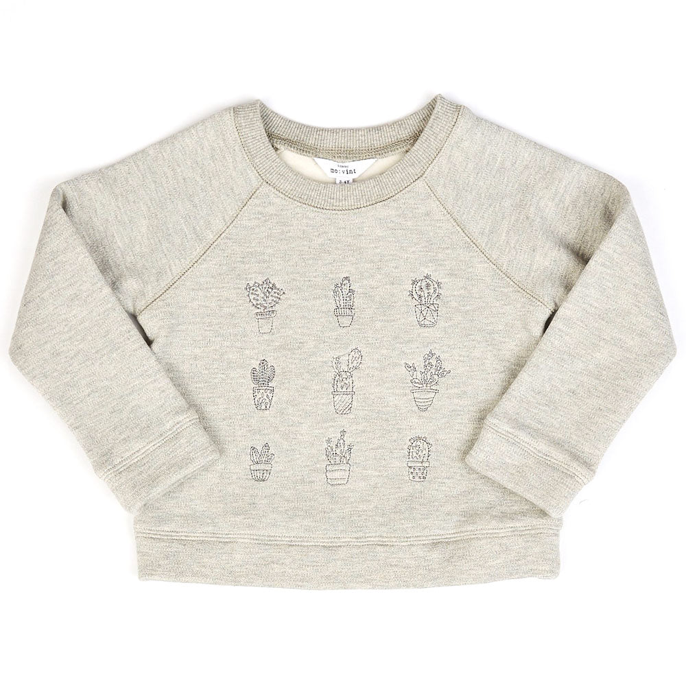 Cactus Pullover Sweatshirt KIDS - Girls - Clothing - Sweatshirts & Hoodies MO:VINT Teskeys