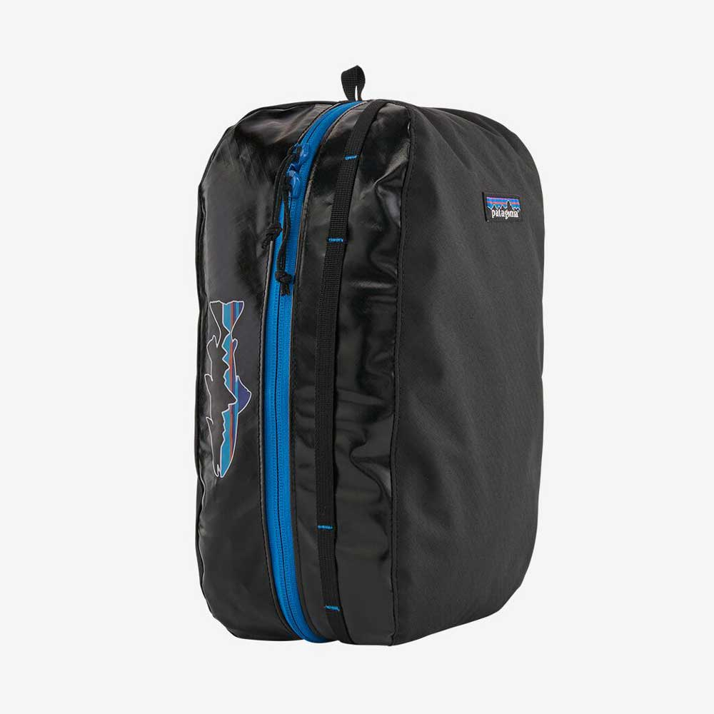 Large Black Hole Cube - Black w/Fitz Trout (BFZT) ACCESSORIES - Luggage & Travel - Shave Kits Patagonia Teskeys