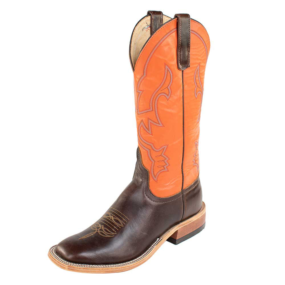 Anderson Bean Chocolate Horsebutt Boots WOMEN - Footwear - Boots - Western Boots ANDERSON BEAN BOOT CO. Teskeys
