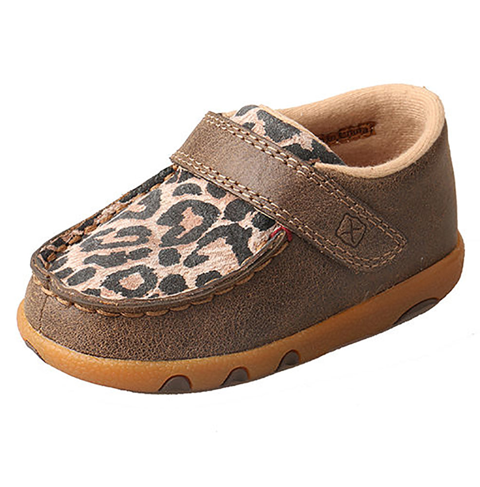 Twisted X Infant Bomber/Leopard Driving Mocs