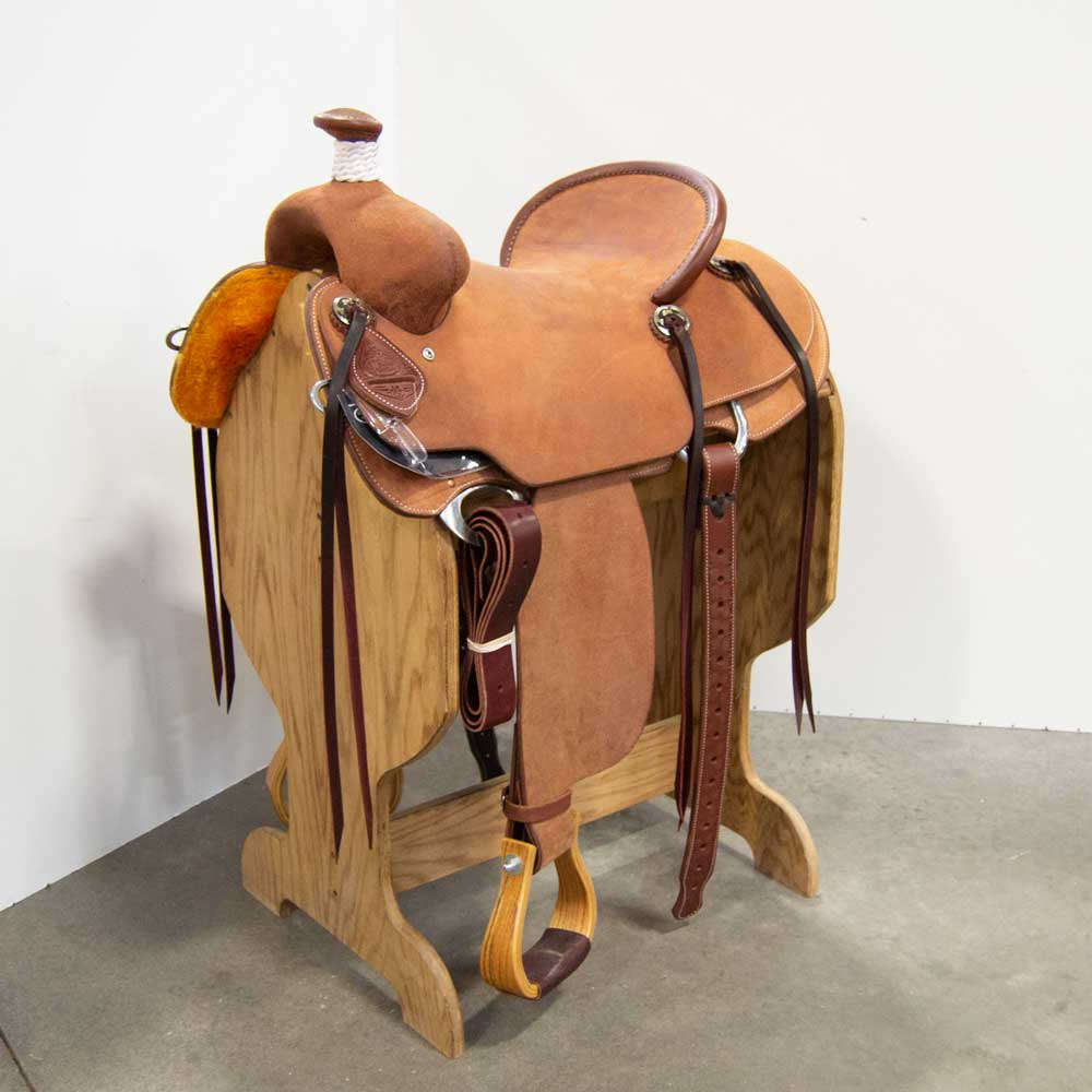 "15"" CACTUS RANCH ROPING SADDLE"
