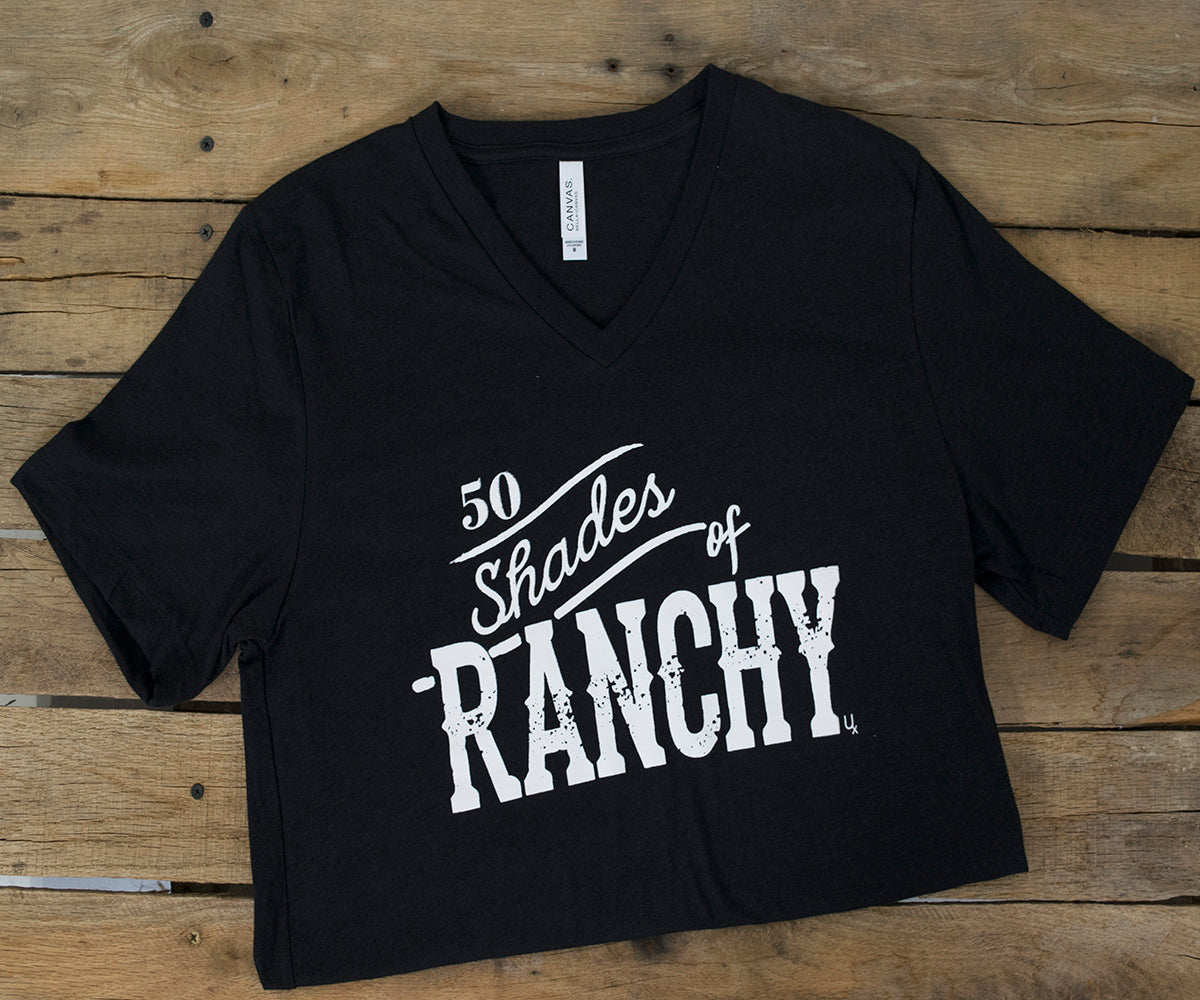 50 Shades of Ranchy Tee WOMEN - Clothing - Tops - Short Sleeved U SPUR Teskeys