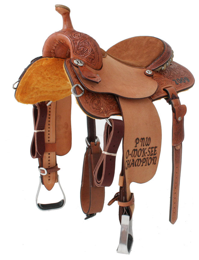 Trophy Barrel Saddle CUSTOMS & AWARDS - SADDLES Teskeys Teskeys