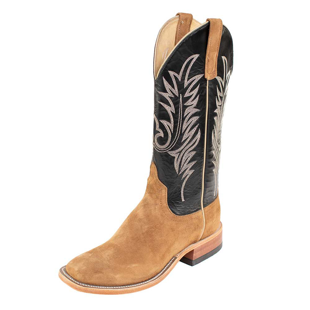 Anderson Bean Mesquite Roughout Boot MEN - Footwear - Western Boots ANDERSON BEAN BOOT CO. Teskeys
