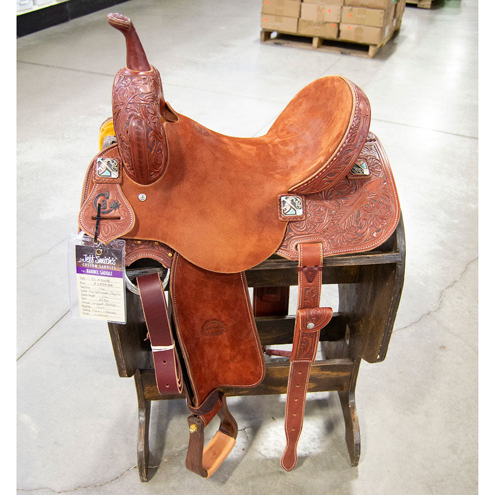 "14"" JEFF SMITH C3 BARREL SADDLE Saddles - New Saddles - BARREL Jeff Smith Teskeys"