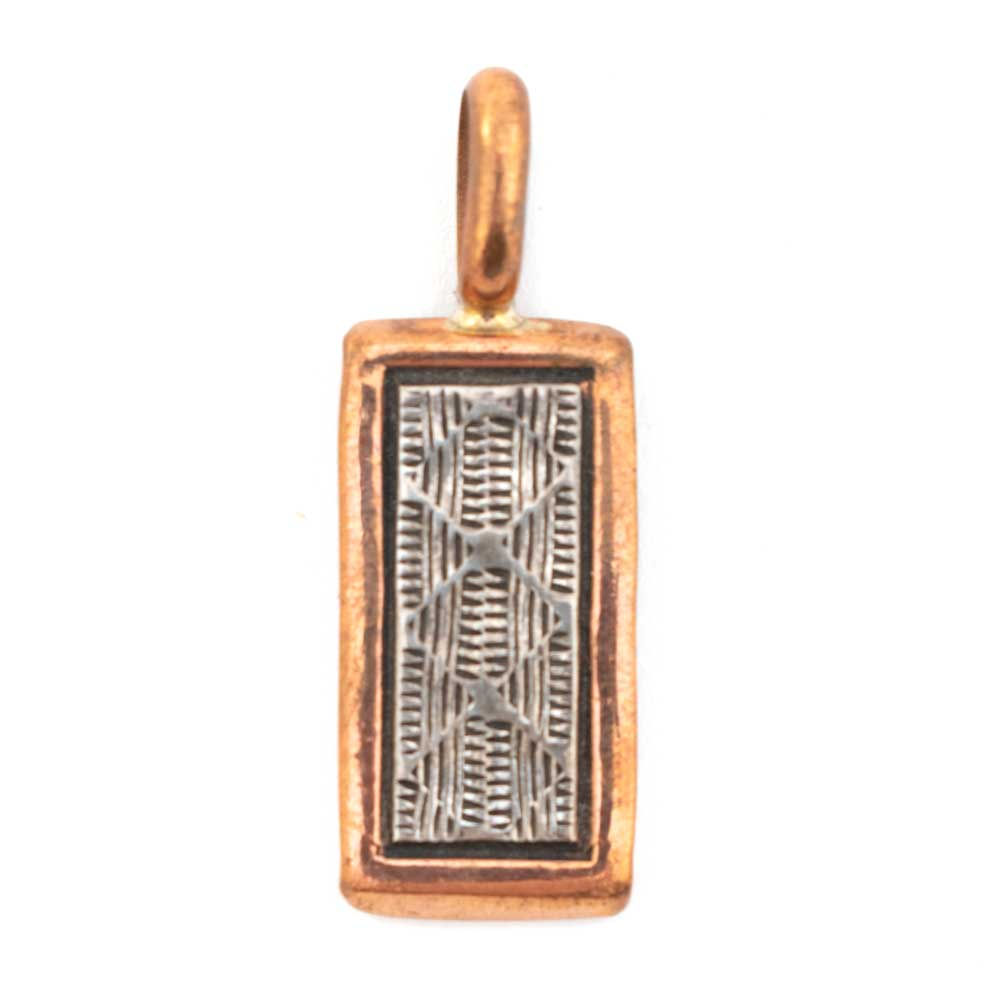 Small Copper and Silver Pendant WOMEN - Accessories - Jewelry - Pins & Pendants SECATERO NAVAJO SILVER Teskeys