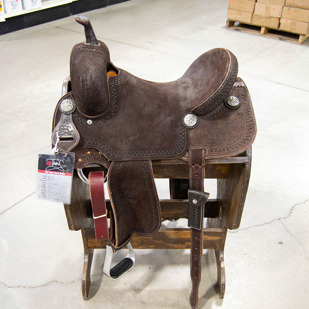 "14.5"" TAMI SEMAS BARREL SADDLE Saddles - New Saddles - BARREL Tami Semas Teskeys"