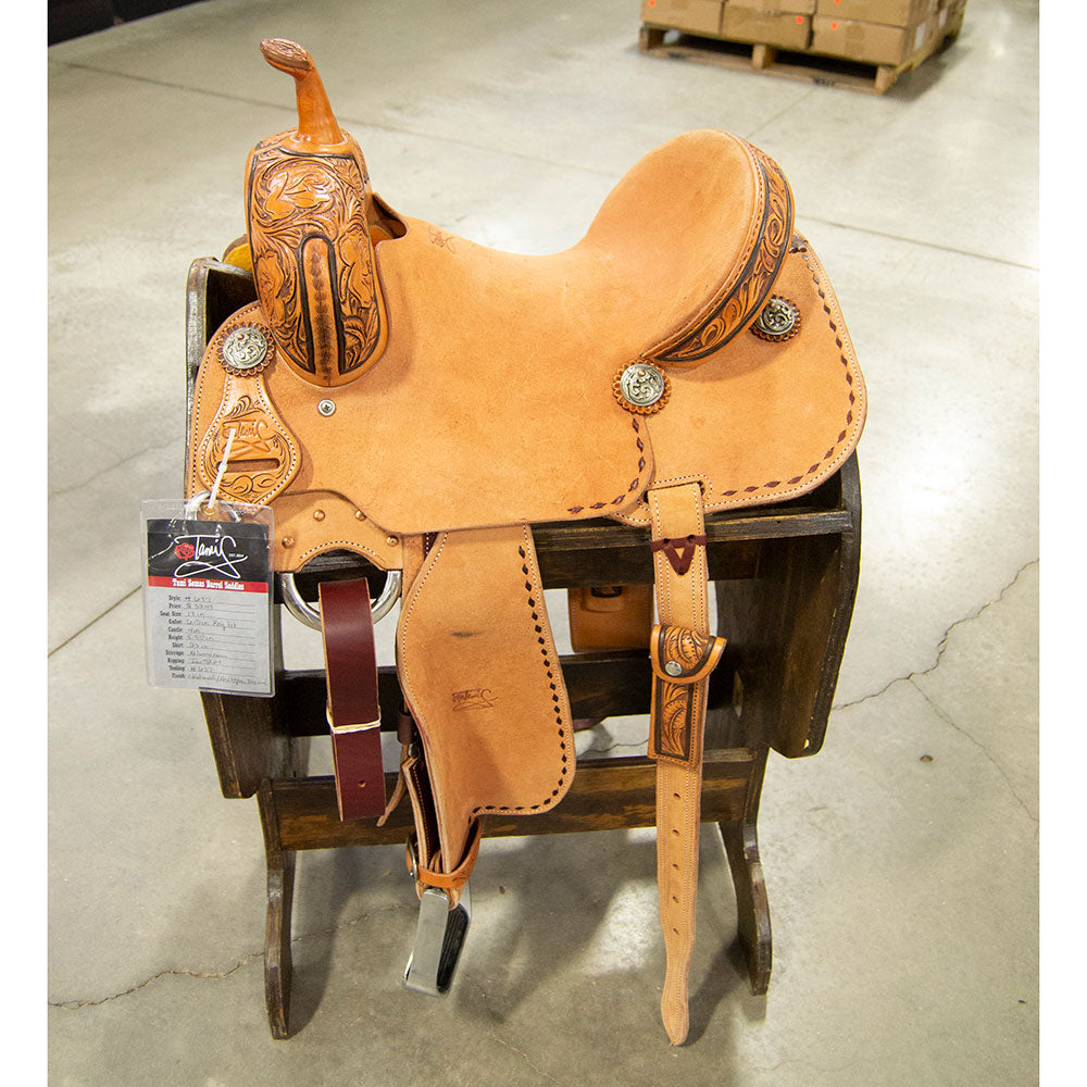 "13"" TAMI SEMAS BARREL SADDLE Saddles - New Saddles - BARREL Tami Semas Teskeys"
