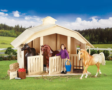Breyer West Wind Stable Farm & Ranch - Toys and DVDs - Toys Breyer Teskeys