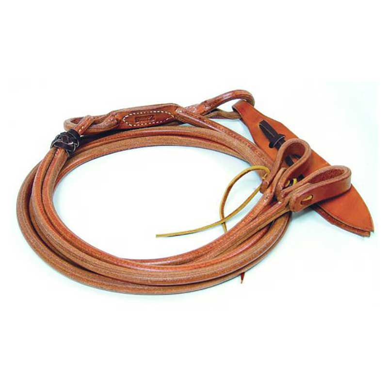 Professional's Choice Harness Leather Romal Reins With Waterloops Tack - Reins Professional's Choice Teskeys