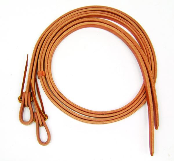 8' Split Harness Leather Reins By Professional's Choice Tack - Reins Professional's Choice Teskeys