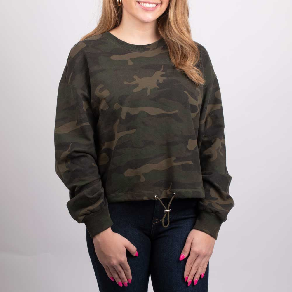 RD International Women's Camo Knit Pullover WOMEN - Clothing - Sweaters & Cardigans RD INTERNATIONAL Teskeys