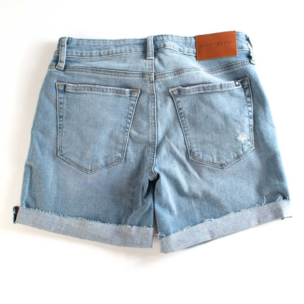Lucky Brand The Roll Up Short WOMEN - Clothing - Shorts LUCKY BRAND JEANS Teskeys