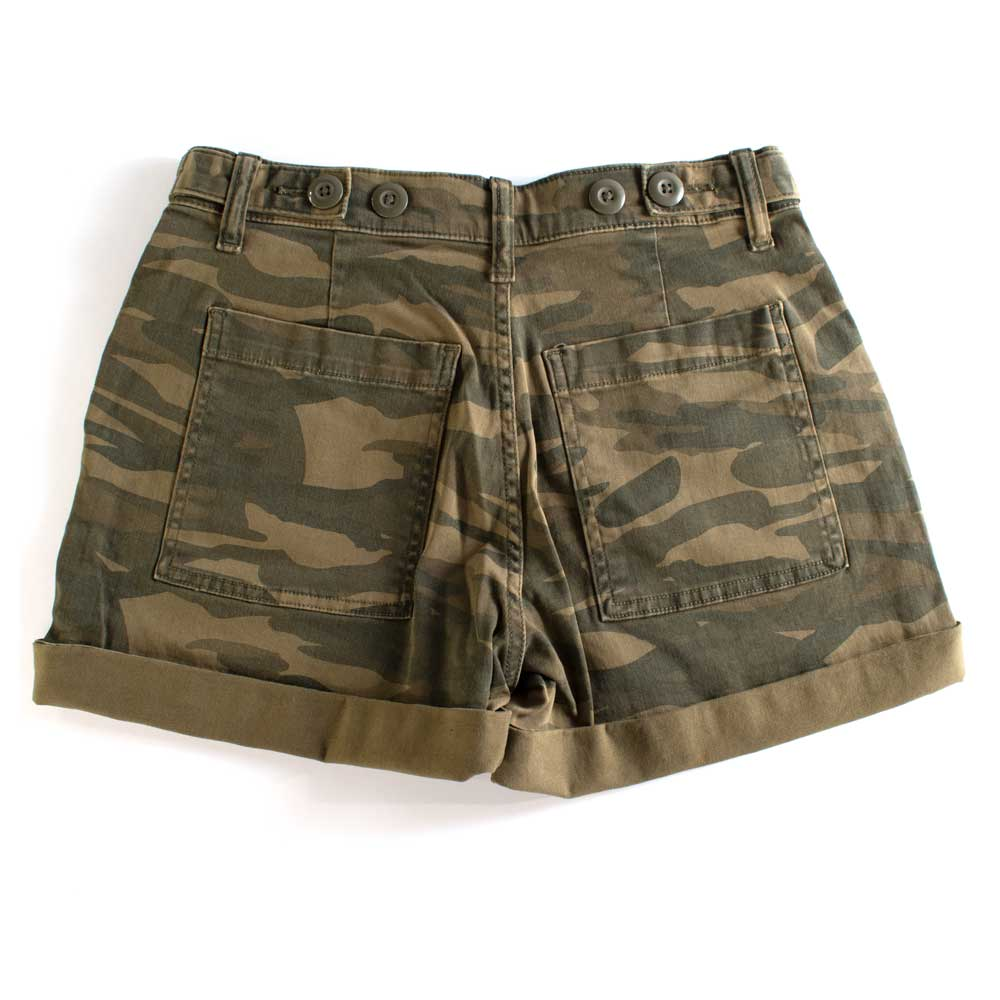 Lucky Brand Camo Cargo Short WOMEN - Clothing - Shorts LUCKY BRAND JEANS Teskeys