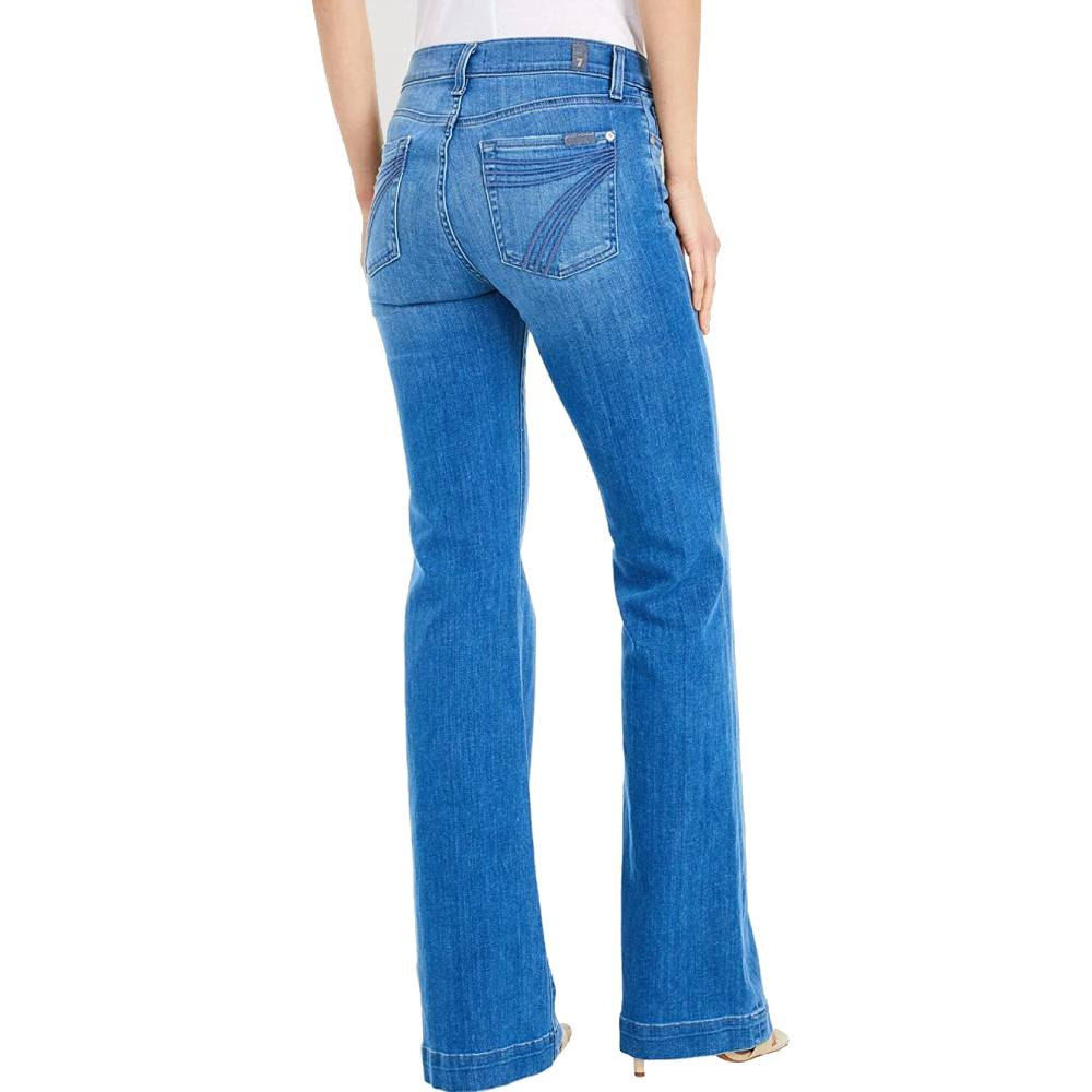 7 For All Mankind Dojo Touser-Shoreline Drive WOMEN - Clothing - Jeans 7FAM Teskeys