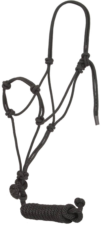 Knotted Training Halter Tack - Halters & Leads - Halters Mustang Teskeys
