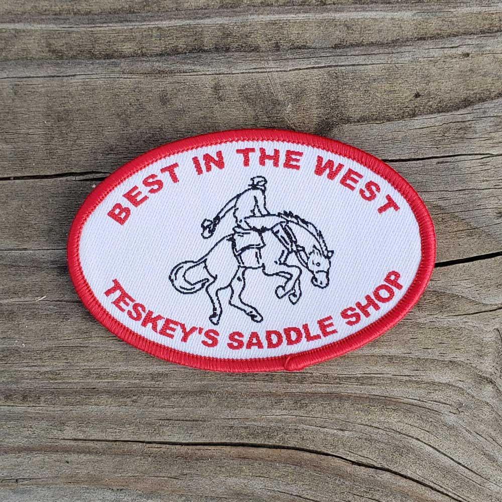 Best in the West Patch TESKEY'S GEAR - Stickers Teskey's Teskeys