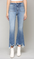 Hidden Happi Frayed Hem Jean WOMEN - Clothing - Jeans HIDDEN JEANS Teskeys